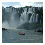 Rafting at Iguazu Fals
