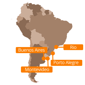Overland from Rio to Buenos Aires