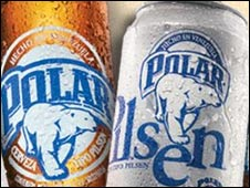 Polar Beer in Venezuela