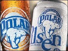Polar Beer in Venezuela