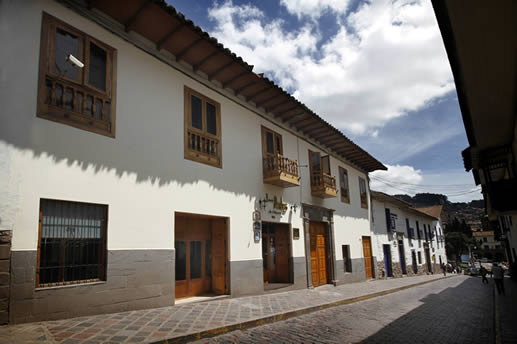 The Andes de America hotel in Cusco.