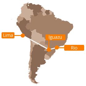 Lima to Iguazu Falls