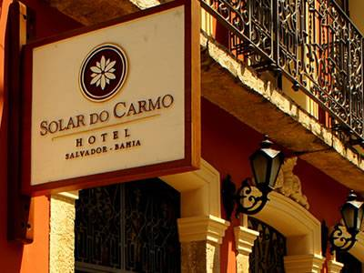 Solar do Carmo hotel in Salvador