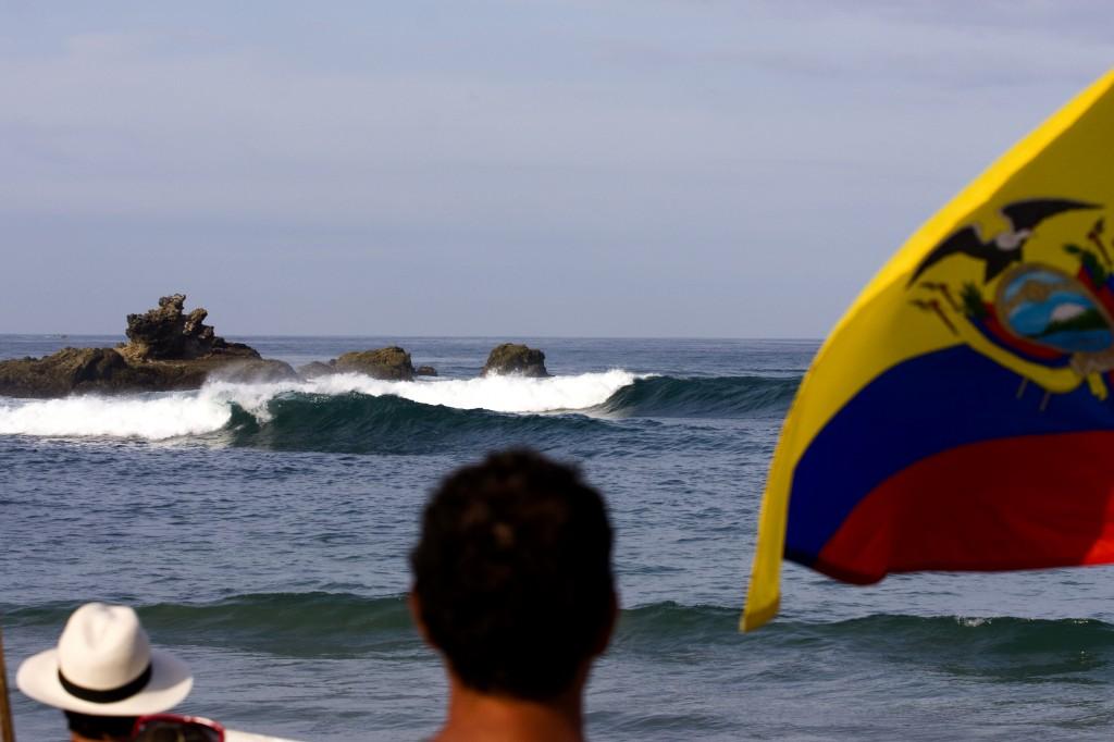 Ecuador 2014 Surfing in Salinas, Ecuador