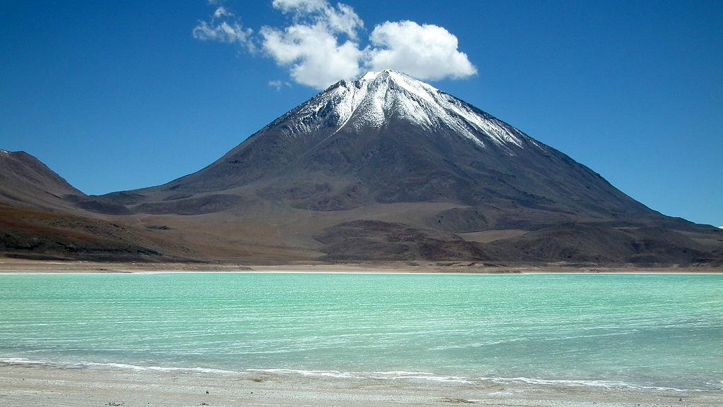 Climbing in Chile's Licancabur volcano