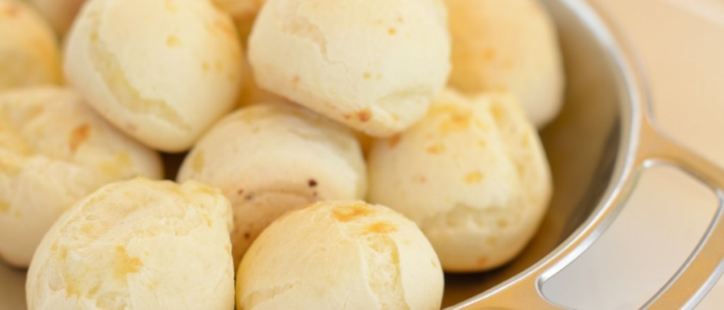Pao de Queijo, Brazilian cheese dumplings