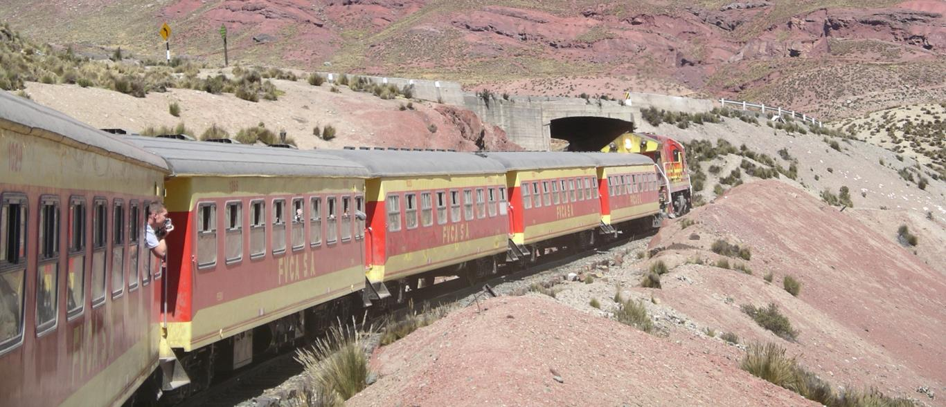 Peru's Central Train Service