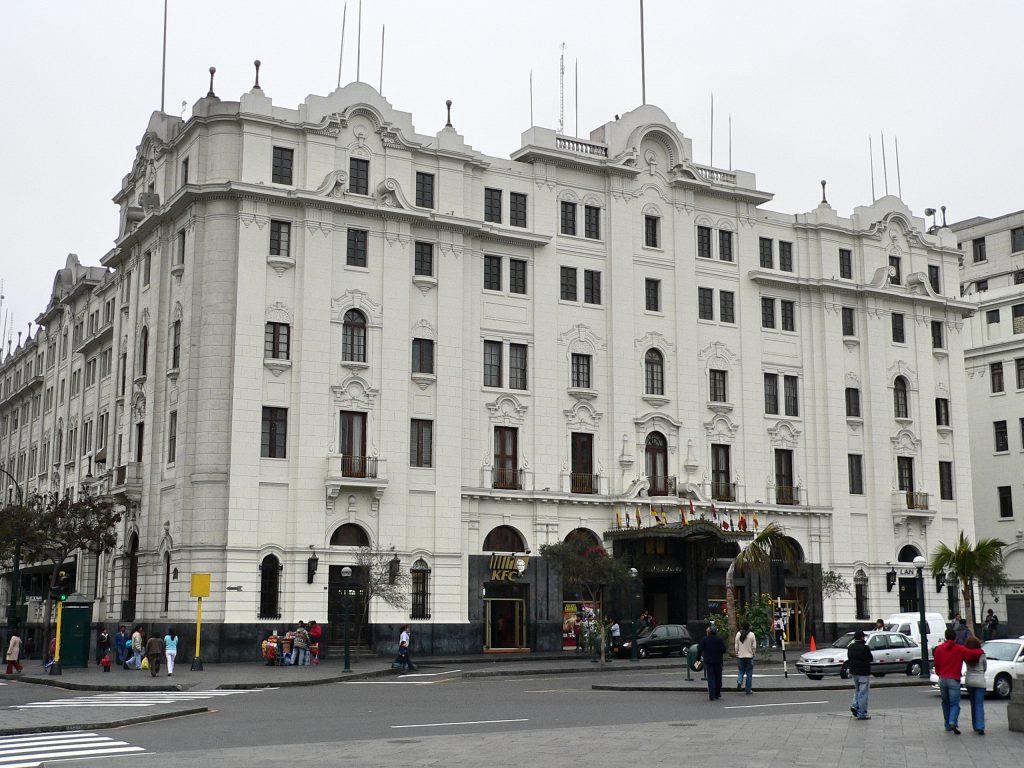 Hotel Gran Bolivar Lima (wikimedia)
