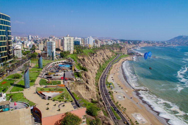 Costa Verde in Miraflores, Lima