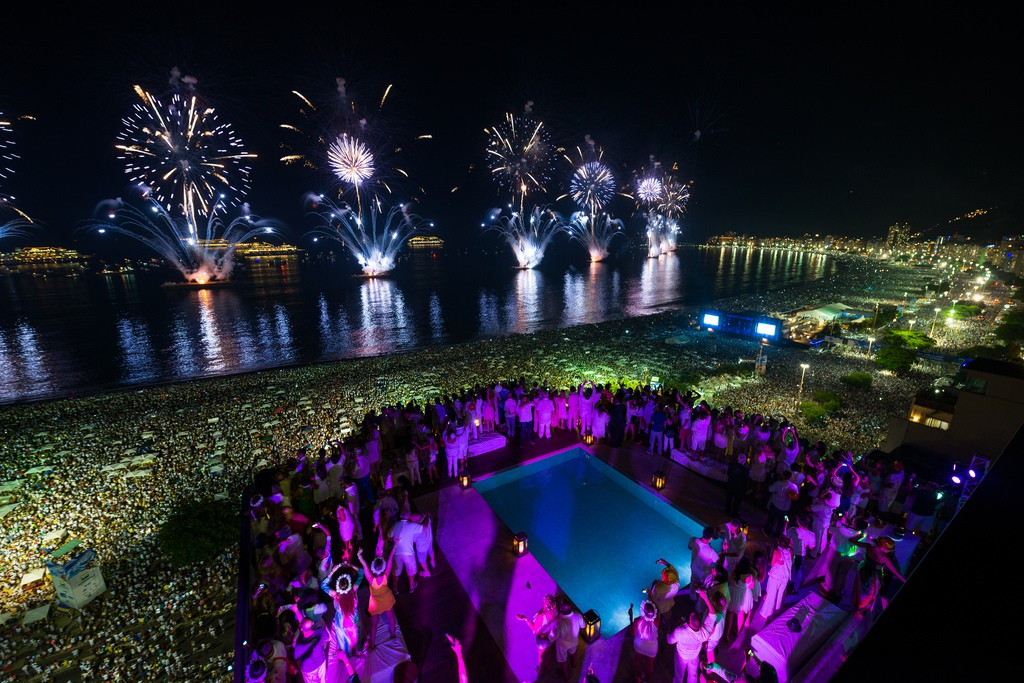 Rio, New Year's Eve in South America - RealWords/RealWorld