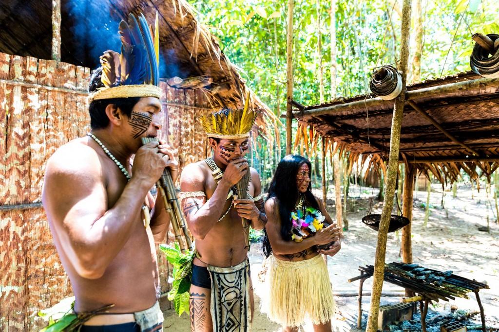 Brazil Amazon Tribe