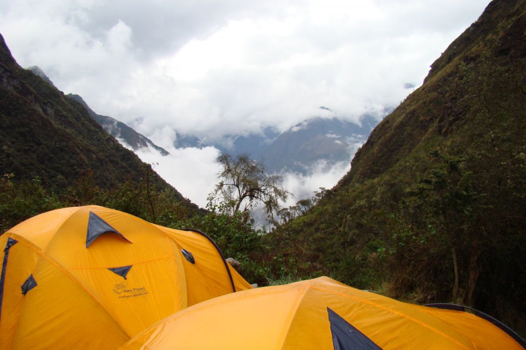 Inca camp, New Year's Eve in South America - RealWords/RealWorld