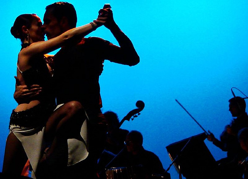 tango, New Year's Eve in South America - RealWords/RealWorld