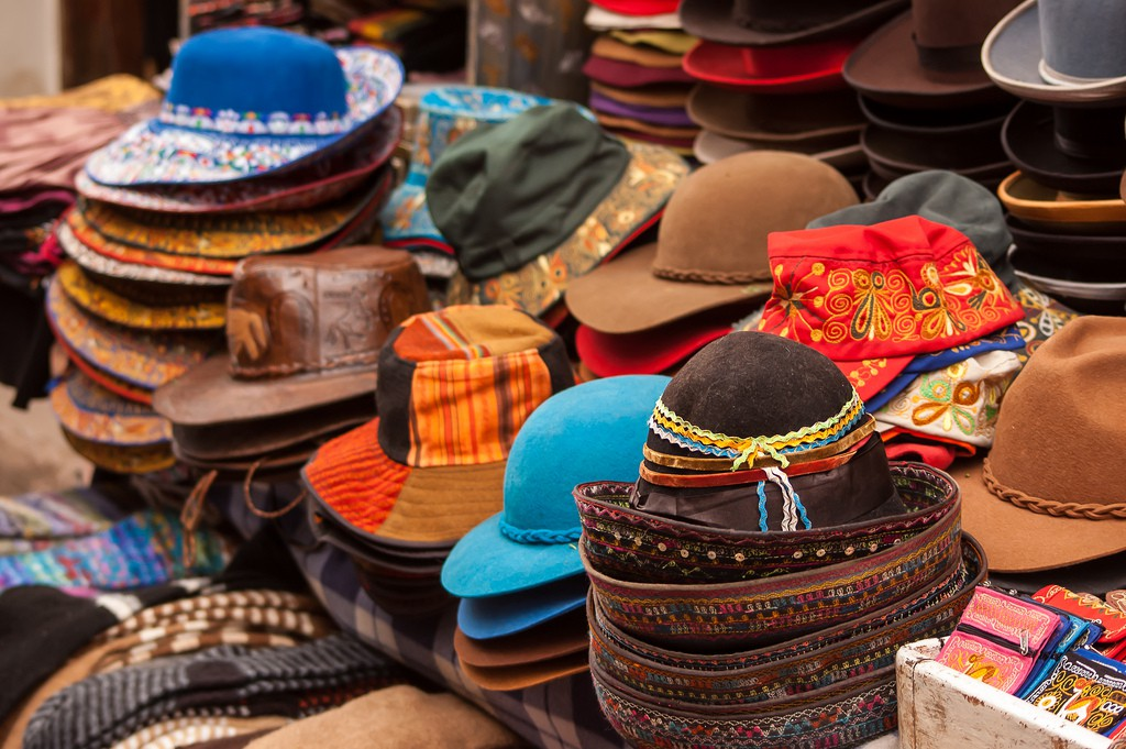 hats, best souvenirs to buy in South America - RealWords/RealWorld