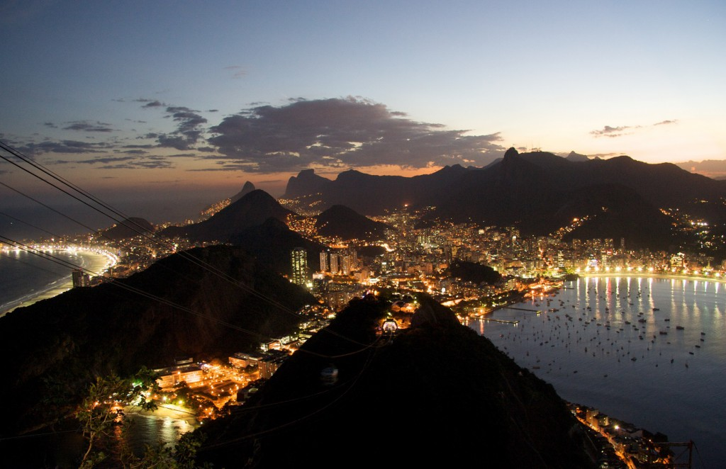 Rio_de_Janeiro_night, best places to propose in south america, realworld holidays