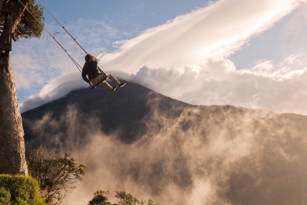 Casa del Arbol, Ecuador, vertigo-inducing adventures, RealWords