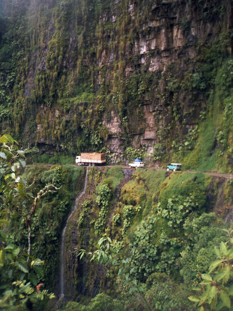 Yungas Road, bolivia, verti-inducing adventures, RealWords
