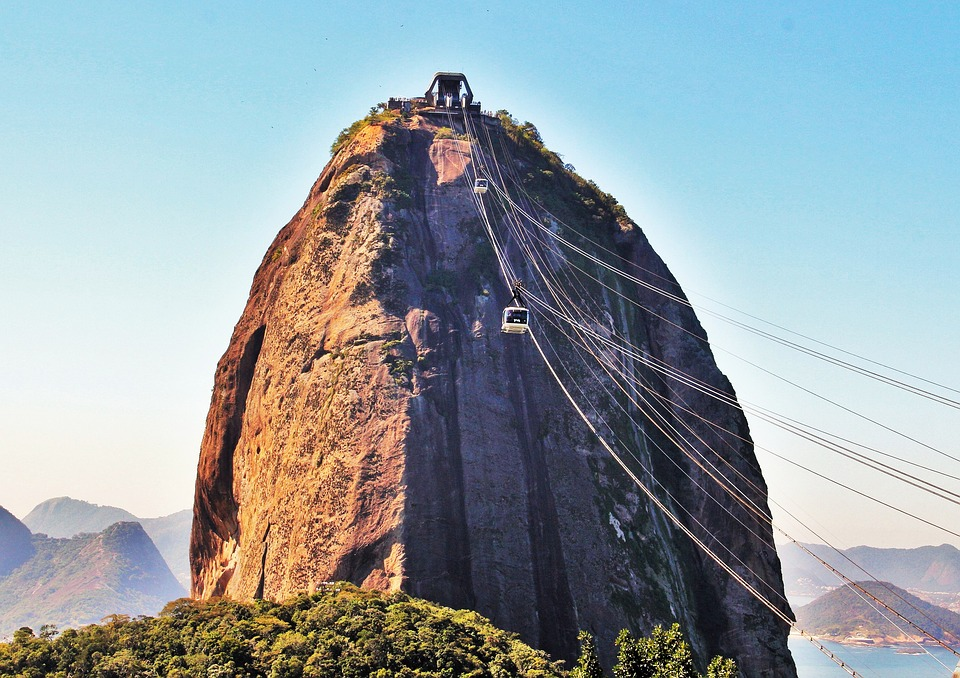 cable car, sugarloaf mountain, rio, vertigo-inducing adventures, RealWords
