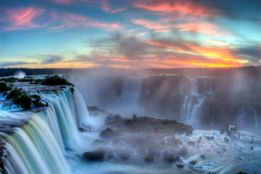 Foz do Iguacu National Park, RealWords, Iguazu Falls