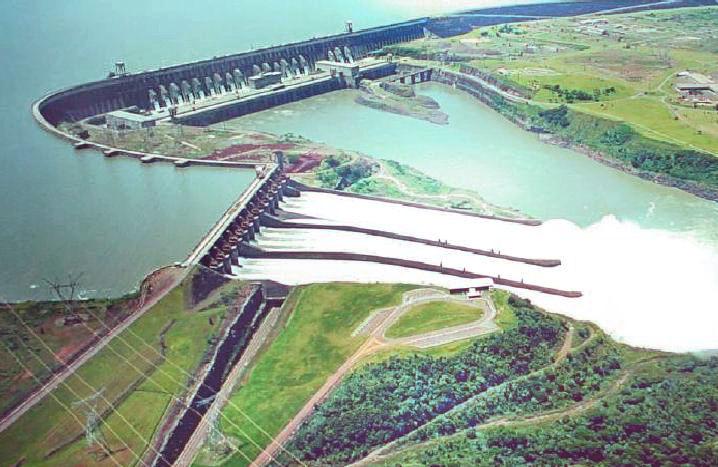 itaipu dam, RealWords, Iguazu Falls