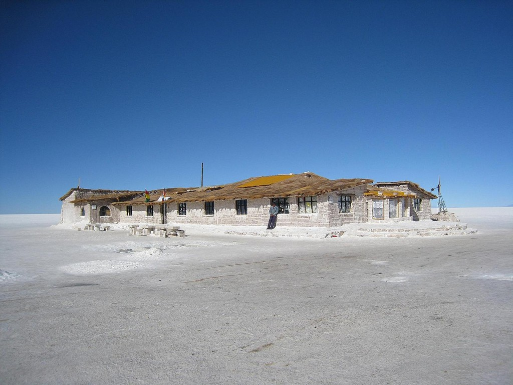 Salt Hotel, routes to Uyuni, RealWords