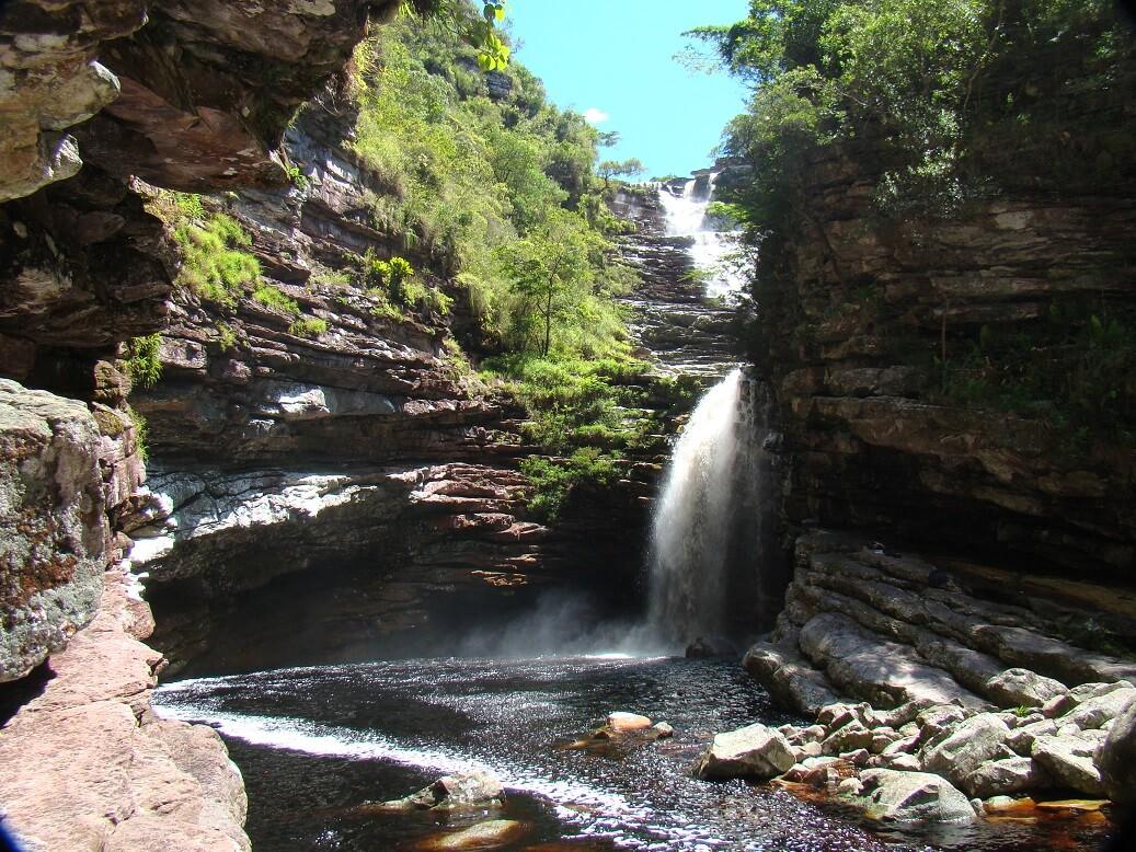 Sossego Waterfall, Chapada Diamantina National Park, RealWorld Holidays
