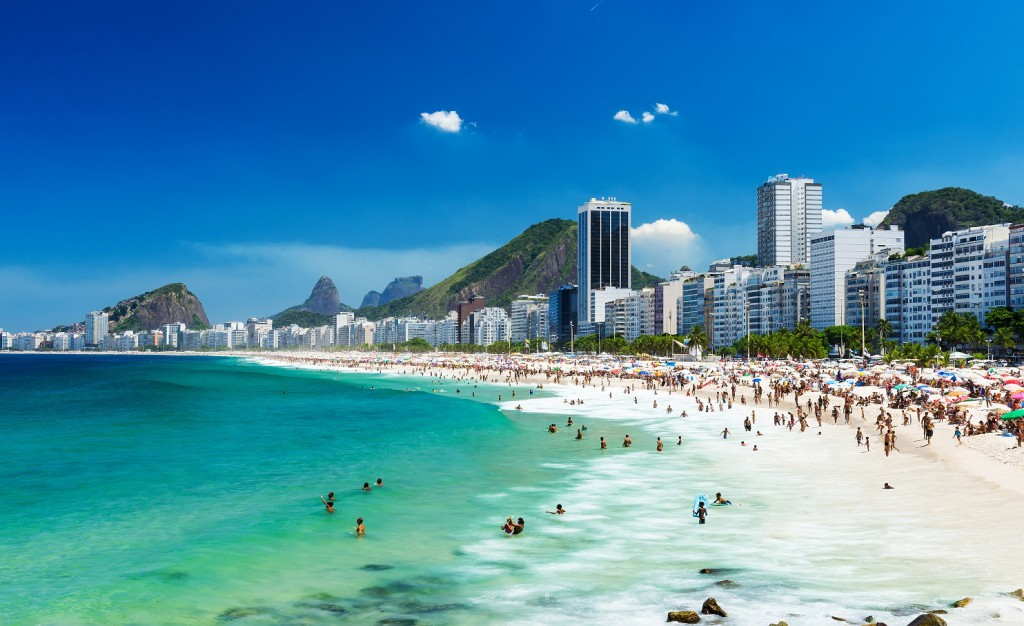 It's easy to see why Copacabana is one of the most famous beaches in the world!