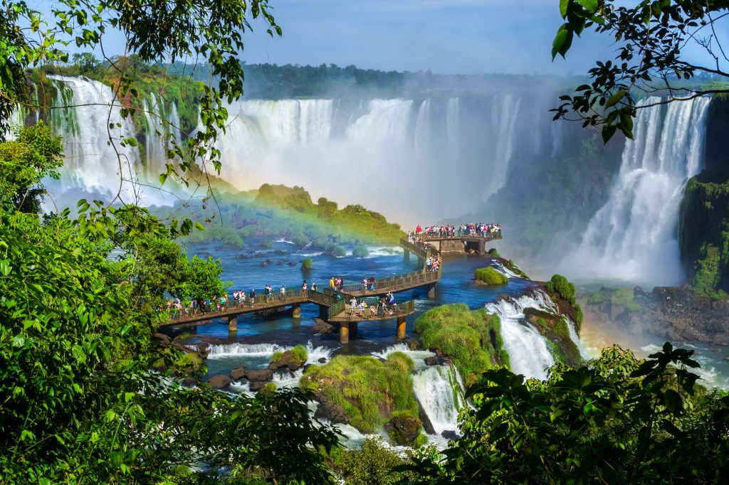Iguazu Brazil walkway (RWimagery)