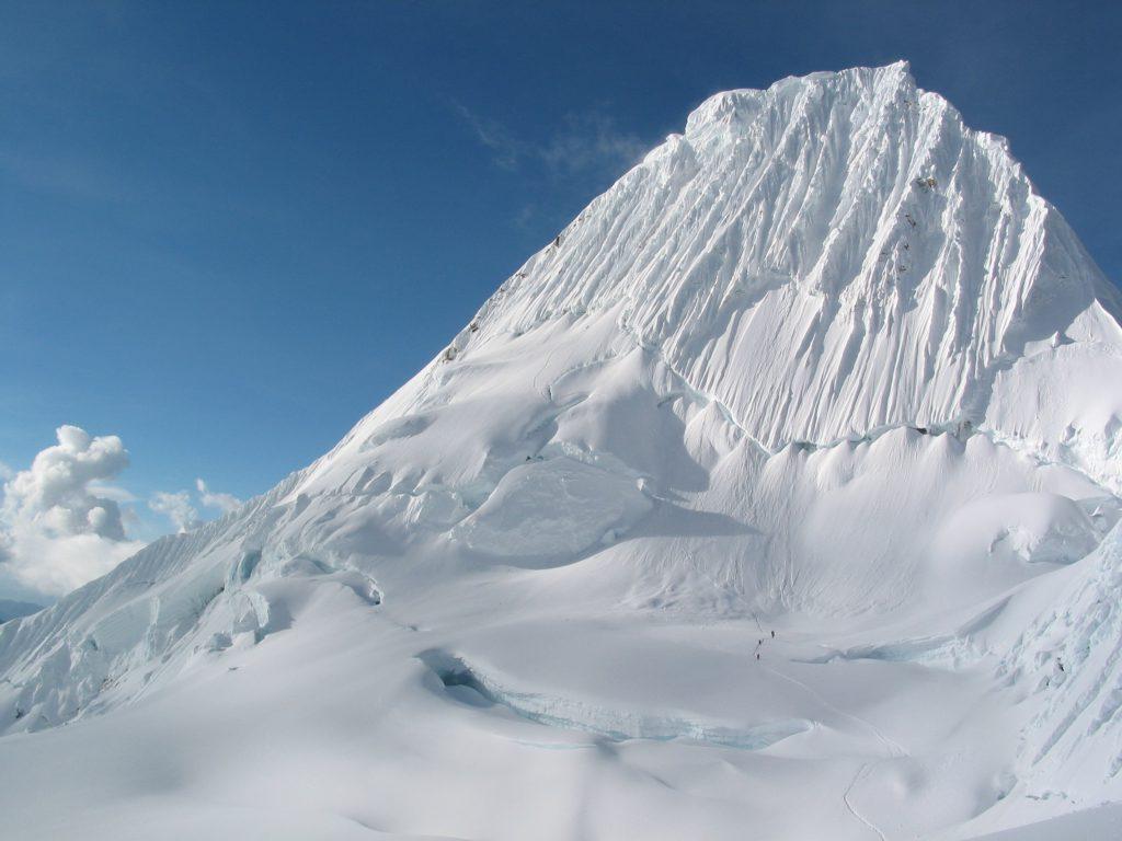 Alpamayo mountain, Peru
