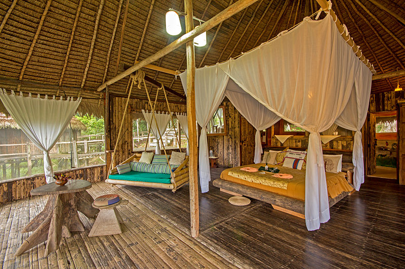 Kapawi Ecolodge Jungle Lodge Amazon (wikimedia)