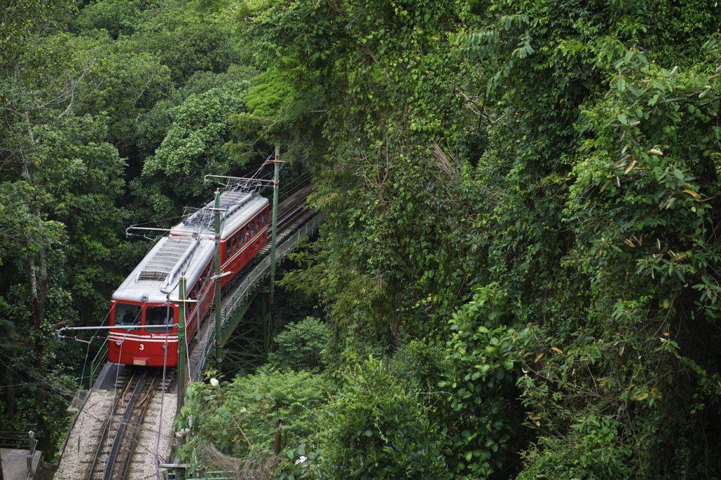 Tijuca Train Rio Corcovado RW