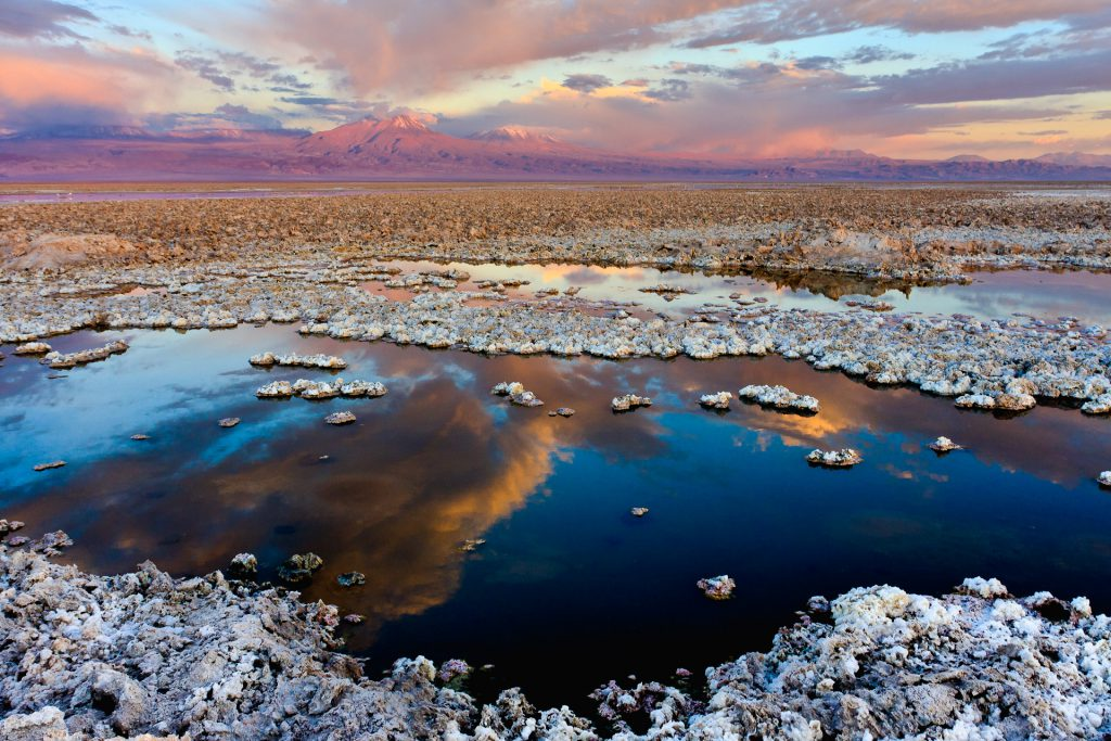 Lagoons in Salar de Atacama trips