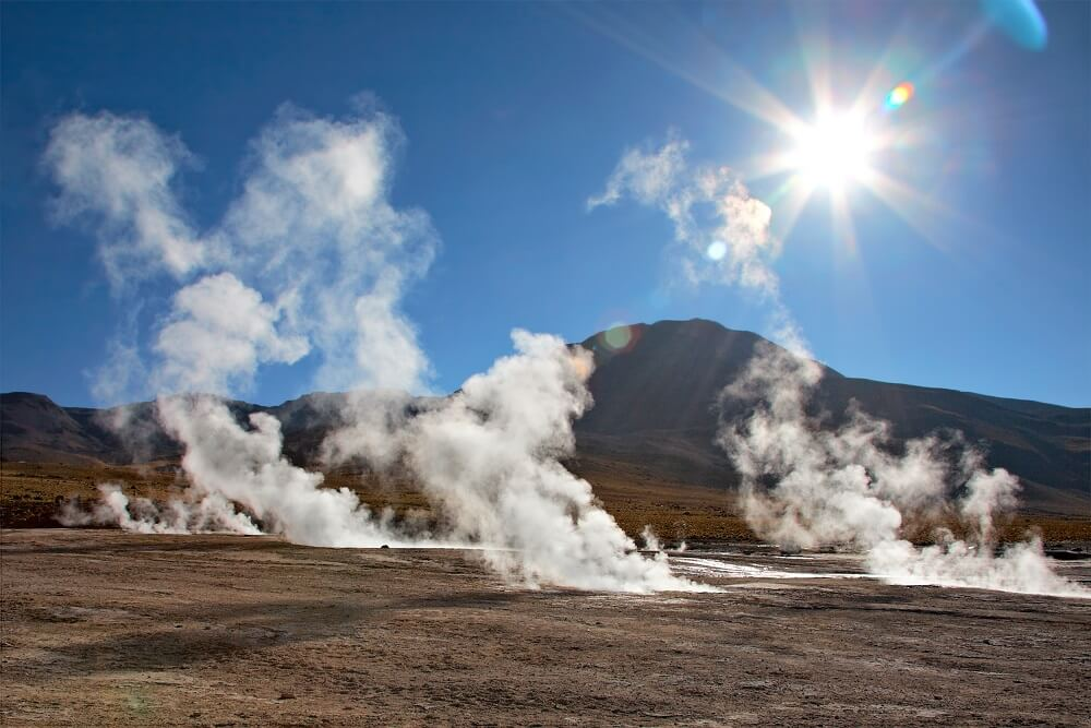 Atacama tours including the Tatio Geysers