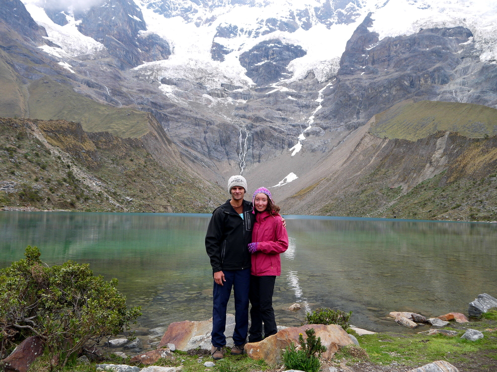 Alya and Campbell in Peru
