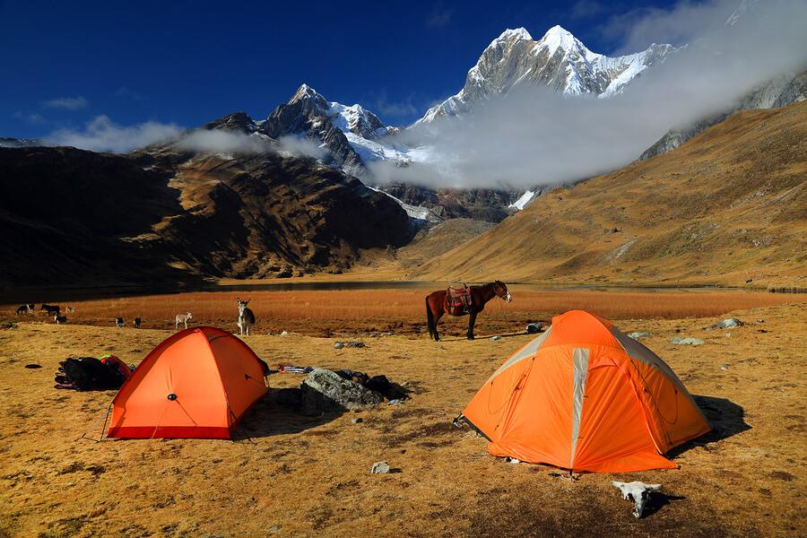 Camping-in-Peru