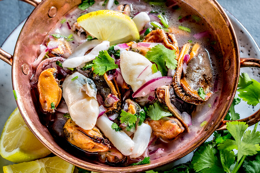 Plate-of-Ceviche