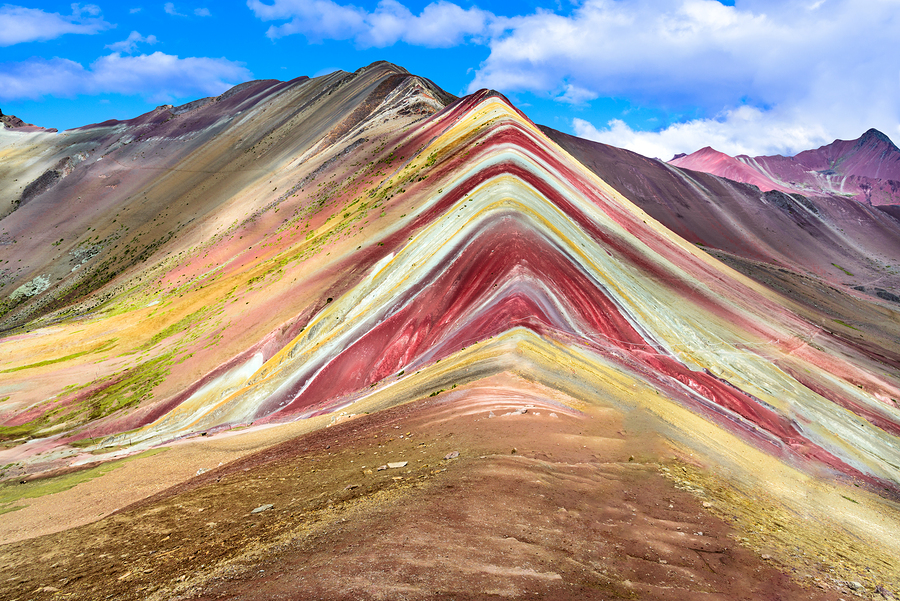 Andean peaks in Argentina