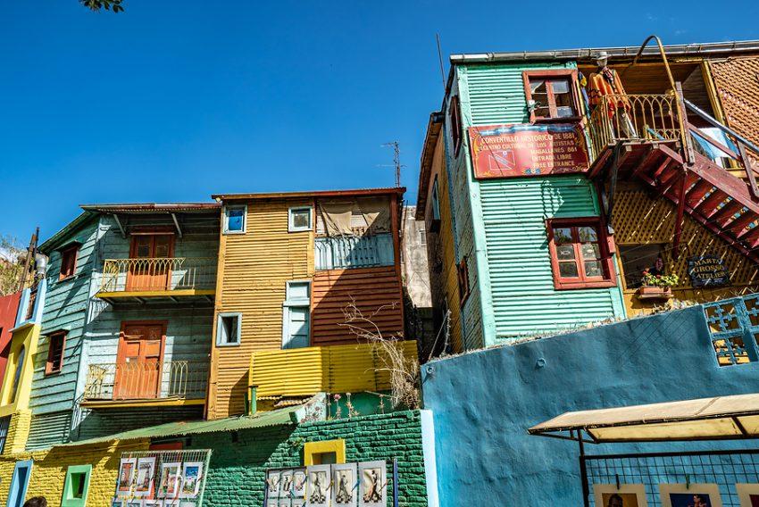 La Boca in Argentina