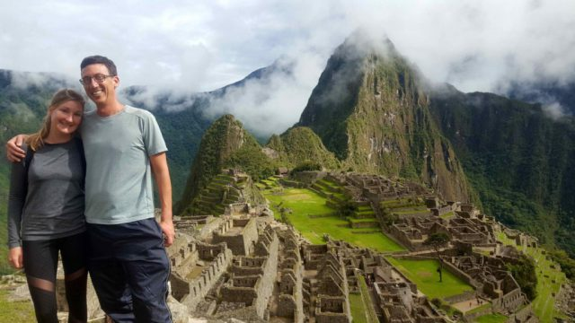 John and Heather Machu Picchu