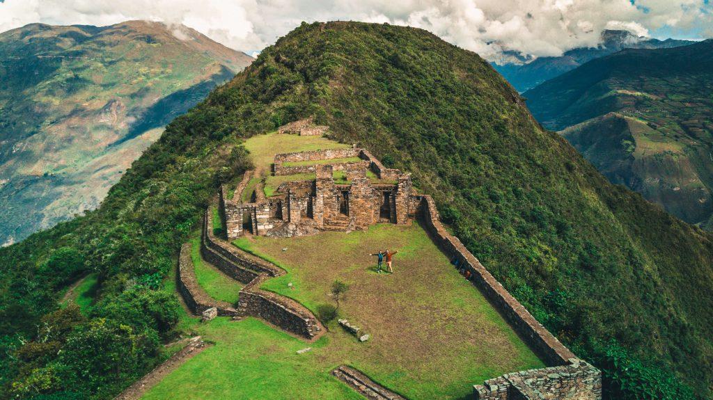 Oksana & Max in Maccu Picchu.