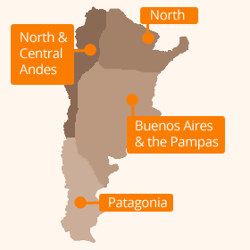 Argentina Climate Map