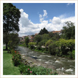 Cuenca's Riverside Barranco District